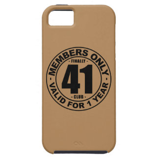 Finally 41 club iPhone 5 covers