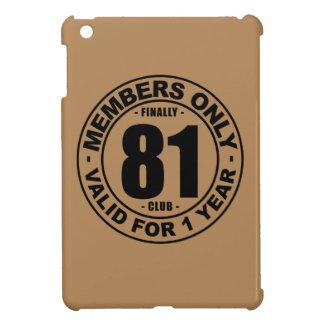 Finally 81 club iPad mini case