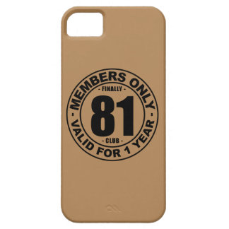 Finally 81 club iPhone 5 covers