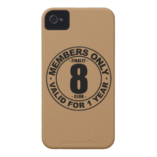 Finally 8 club Case-Mate iPhone 4 cases