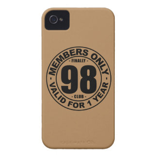 Finally 98 club iPhone 4 cases
