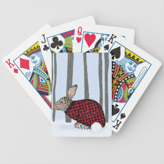 Finally Warm Bicycle Playing Cards