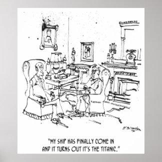 Finance Cartoon 9229 Poster