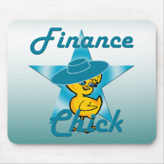 Finance Chick #7 Mouse Pad