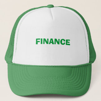 Finance Trucker Hat