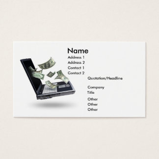 Finances, Money Business Card