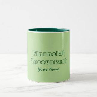 """FINANCIAL ACCOUNTANT"" Two-Tone COFFEE MUG"