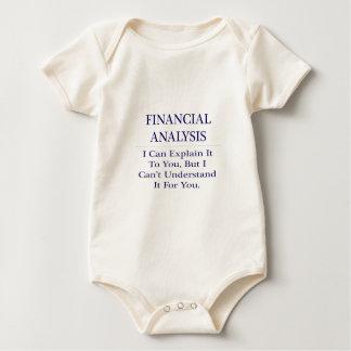 Financial Analysis .. Explain Not Understand Baby Bodysuit