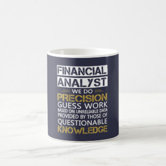 FINANCIAL ANALYST COFFEE MUG