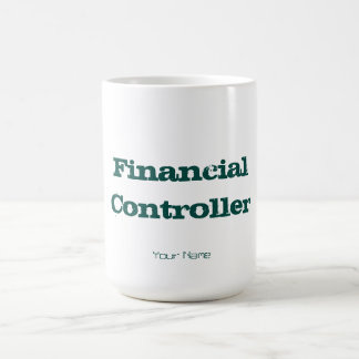 """FINANCIAL CONTROLLER"" MAGIC MUG"