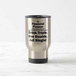 financial planner travel mug