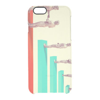 Financial Services or Fintech Company as Concept Clear iPhone 6/6S Case