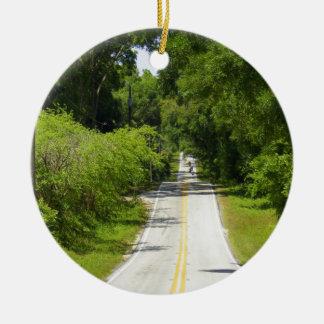 Find A Back Road 2 Ceramic Ornament