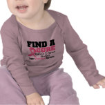 Find a Cure Before I Grow Boobs BREAST CANCER Shirts