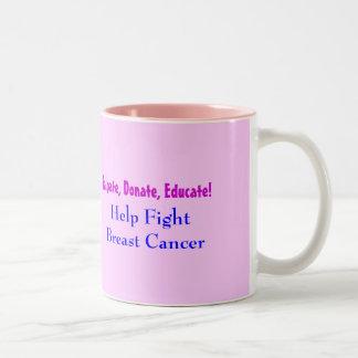 Find A Cure v2.0 Two-Tone Coffee Mug