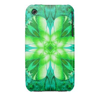 Find a Fractal Shamrock  iPhone 3 Case