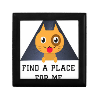 Find a place for me in your heart gift box