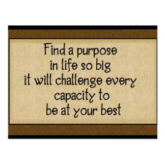 Find A Purpose: Postcards