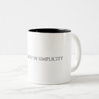 Find Beauty In Simplicity Mug