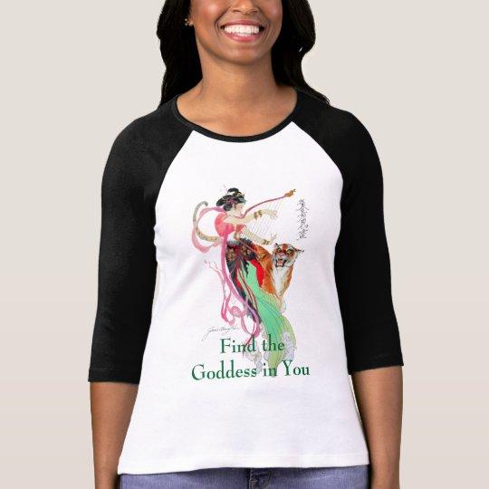 Find Goddess Raglan T-Shirt