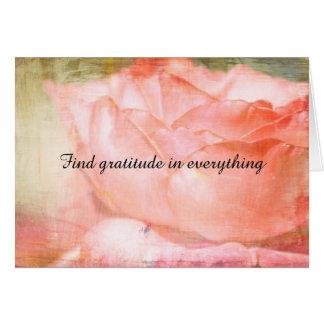 Find Gratitude Card
