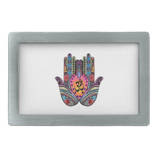 FIND INNER PEACE RECTANGULAR BELT BUCKLE