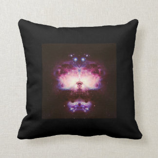 Find It In a Book Space Scene Throw Pillow