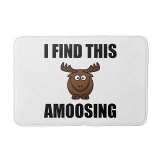 Find This Amoosing Moose Bathroom Mat
