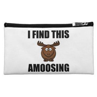 Find This Amoosing Moose Cosmetic Bag
