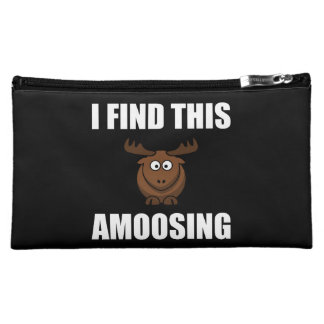 Find This Amoosing Moose Makeup Bag