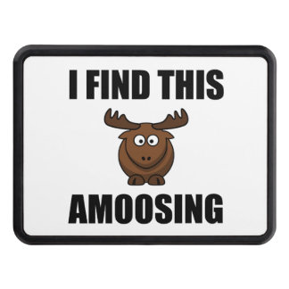 Find This Amoosing Moose Trailer Hitch Cover