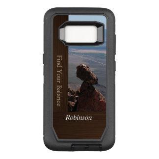 Find Your Balance Boulder OtterBox Defender Samsung Galaxy S8 Case