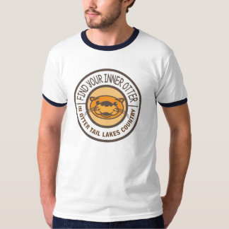 Find Your Inner Otter Tee Shirt for Him