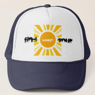 Find Your Own Light Trucker Hat