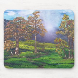 Find Your Path Mouse Pad
