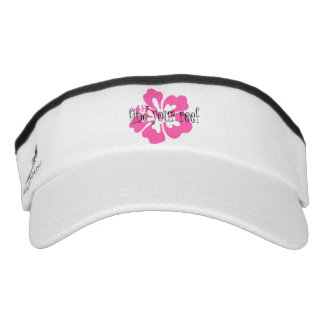 Find Your Reef Ladies Hibiscus Visor