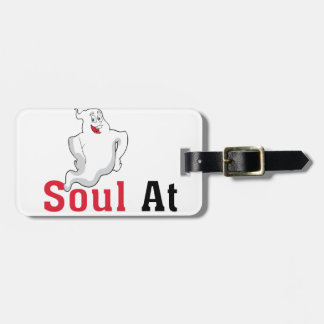 Find Your Soul at My Body Luggage Tag