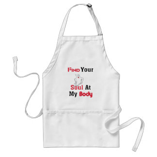 Find Your Soul at My Body Standard Apron
