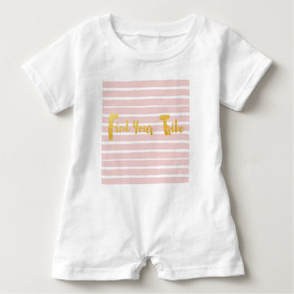 find-your-tribe-pink-stripe. baby romper