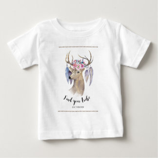 Find Your Tribe - Watercolor Baby T-Shirt