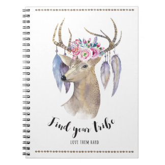 Find Your Tribe - Watercolor Notebooks