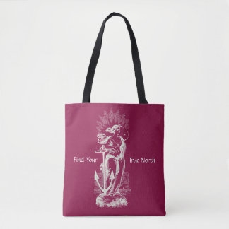 Find Your True North Tote Bag