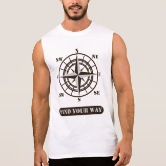 Find your way sleeveless shirt