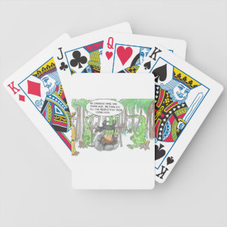 Finding a Surprise Bicycle Playing Cards