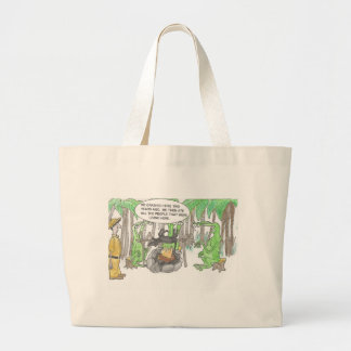 Finding a Surprise Large Tote Bag