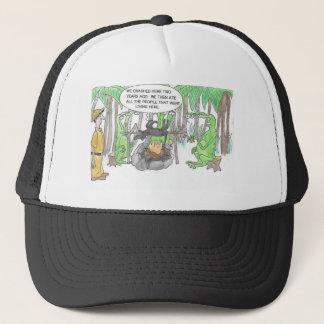 Finding a Surprise Trucker Hat
