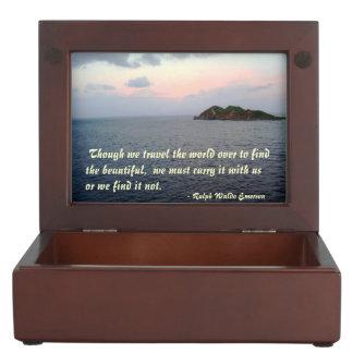 Finding Beauty Keepsake Box