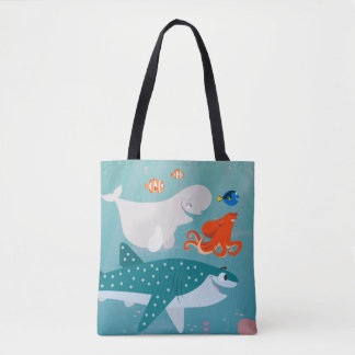 Finding Dory   A Journey Beneath the Sea Tote Bag