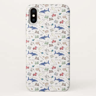 Finding Dory Cartoon White Pattern Case-Mate iPhone Case