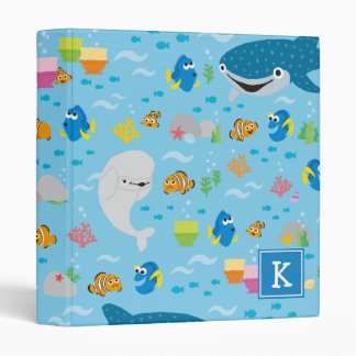 Finding Dory Colorful Pattern Binder